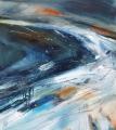 ©Jane Hodgson Tidal Race1, 45 x 50cm, plus frame. Oil on canvas.