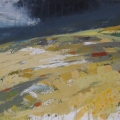Jane_Hodgson_Gorse, Dartmoor, mixed media on paper
