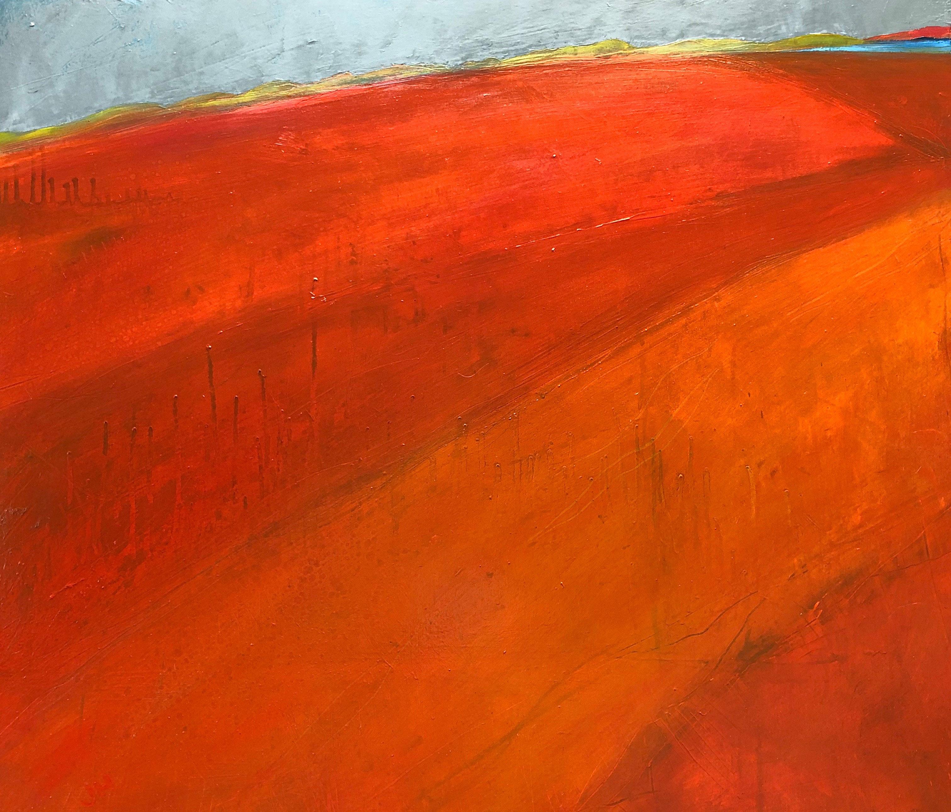©Jane  Hodgson_ Dare to Dream_80 x 70cm, Oil and graphite on canvas